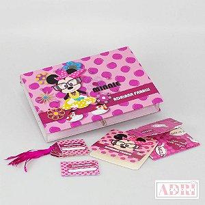 Caixa de Papelaria Personalizada 4 - Minnie
