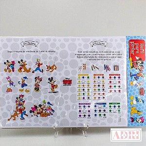 Refil Para Risque Rabisque na Prancheta - Turma do Mickey