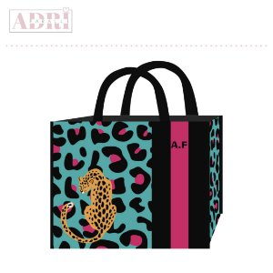 Bolsa Sunset - Animal Pink 01