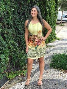 Vestido Floral Maria Clara
