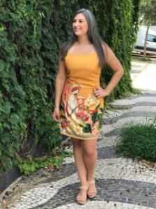 Vestido Cacatua Sol
