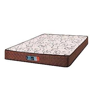 Colchão de Casal Comfort Maxx D33 - 128x188x14 - Comfort Prime - Marrom