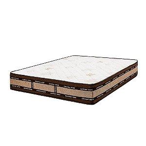 Colchão de Casal Exclusive Molas Ensacadas - 138x188x30 - Comfort Prime - Marrom