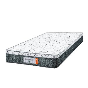 Colchão de Solteiro Prime Coil Molas Superlastic - 96x203x24 - Comfort Prime - Cinza