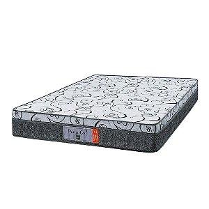 Colchão King Size Prime Coil Molas Superlastic - 193x203x24 - Comfort Prime - Cinza