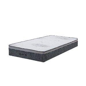 Colchão de Solteiro Sensitive Molas Superlastic - 96x203x27 - Comfort Prime - Cinza