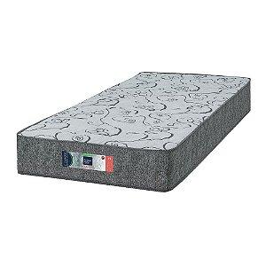 Colchão de Solteiro D33 Comfort Maxx - Extra Firme - 96x203x30 - Comfort Prime - Cinza