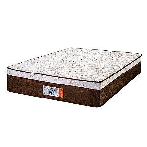 Colchão King Size Aspen Molas Ensacadas - 193x203x30 - Comfort Prime - Marrom