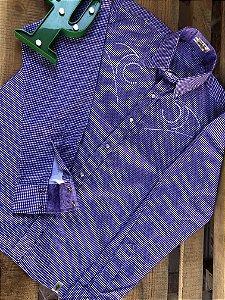 Camisa Masculina Country  American Bordada