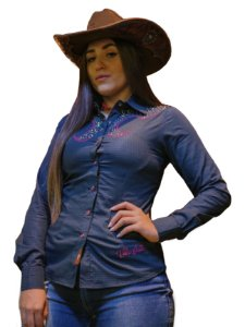 CAMISA FEMININA COUNTRY DENTON