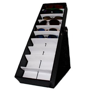Maleta Expositora com Suporte para 10 Óculos MS110C Zoke