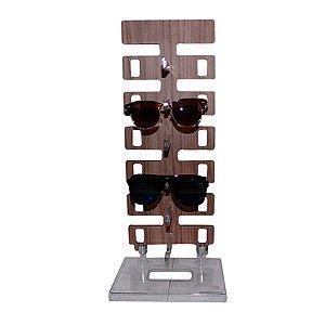 Expositor Torre para 6 Óculos em MDF 06MDF Zoke