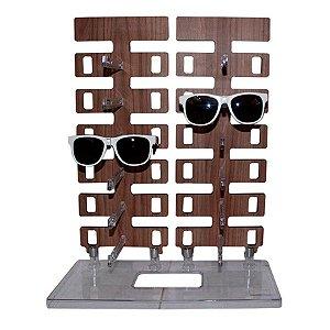 Expositor Torre para 12 Óculos em MDF 12MDF Zoke