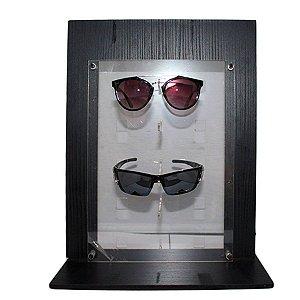 Expositor Vitrine para 5 Óculos em MDF VT01 Zoke