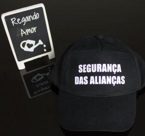 Boné Segurança das Alianças