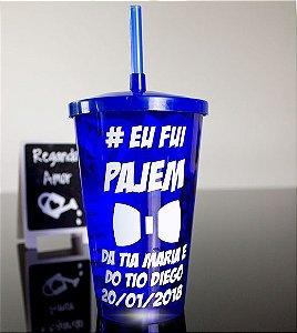 Copo personalizado com LED para Pajens.