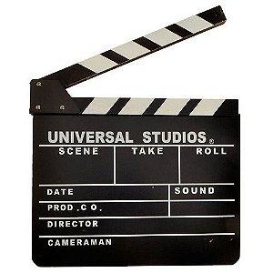 Claquete de Cinema para Fotos e Festas de Casamento