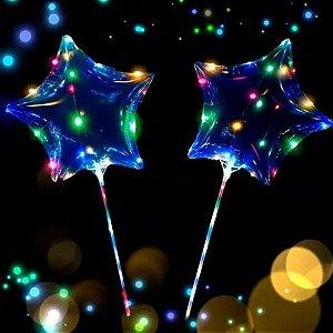 Balão de LED formado de estrela 18°