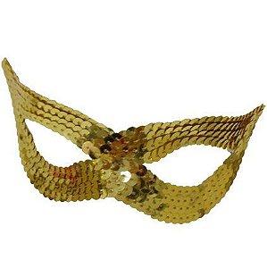 Mascara Decorada com Lantejoula