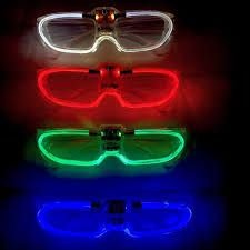 Óculos de LED