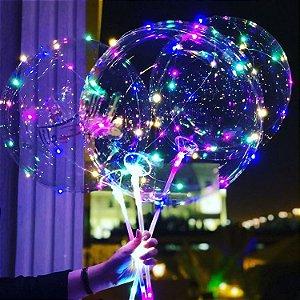 Kit 10 Balões de LED 18 Pol. Completo