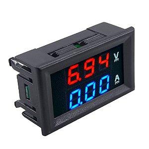Voltímetro e Amperímetro Digital