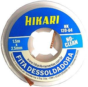 Fita Dessoldadora - Malha Hikari Hk120 - 1,5m 2,5mm