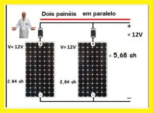 7 - Painel Solar 50 W 12 Volts - Preço para Aluno PRO - R$ 200,00