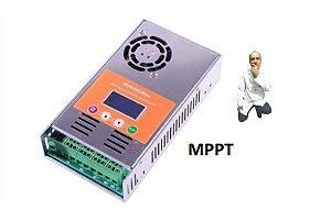 Item 7- Controlador solar 60A MPPT para 12 V 24 V 36 V 48 VDC MakeSkyBlue Qualidade
