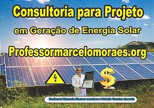 1 - Inscrição e Consultoria para Projeto Tenha Energia Elétrica Grátis do professormarcelomoraes.org