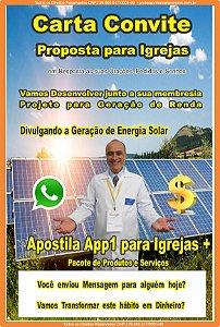 1 - Inscrição e Consultoria para Igreja  + Franquia de Página do Projeto Geração de Renda no site Professormarcelomoraes.com.br