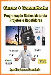 Contratar Curso + Consultoria  Programação Rádios transcetores Motorola e afins Projetos e Repetidoras