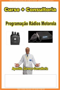 Contratar Curso + Consultoria  Programação Rádios Motorádio