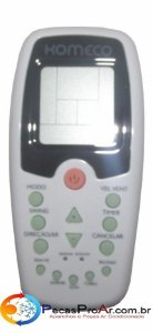Controle Remoto Komeco Ambient ABS07FC2LX