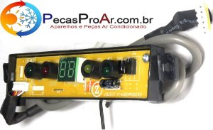 Placa Display Komeco Princess Split Hi Wall 24.000Btu/h KOS24FC3LX