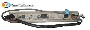 Placa Display Carrier Cassete 36.000Btu/h 40KWCA036515LC