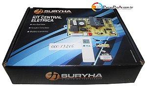 Kit Central Elétrica Placa eletronica + Display + Transformador + Controle + Sensor