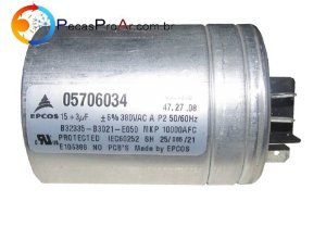 Capacitor 15+3MF 380V