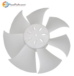 Hélice Ventilador Condensadora Midea Luna 38KQJ07M5