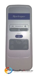 Controle Remoto Springer Duo QQE075RBB