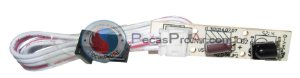 Placa Display Ar Condicionado Portátil Midea Comfee 9.000Btu/h MPS09CRV1