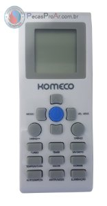 Controle Remoto Komeco Maxime mxs12fc4la