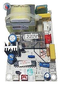 Placa Eletrônica Adega Midea Magno 23 garrafas MWC23HS2V