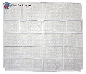 Filtro de Ar Lado Esquerdo Hi Wall Midea LunaFrio 42MLCB18M5