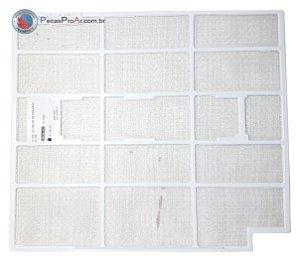 Filtro de Ar Esquerdo Hi Wall Midea Estilo 42MTQA12M5