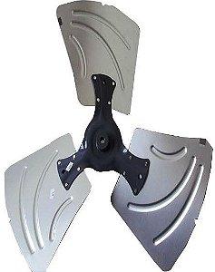 Hélice Ventilador Condensadora Midea Piso Teto MPC60CRV2