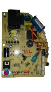 Placa Eletrônica Komeco Ambient Split Hi Wall 9.000Btu/h ABS09QC2LX