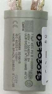 CAPACITOR 7,5UF 400VAC P0 42BCA036A510HECZ