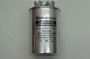 CAPACITOR PERMANENTE 20+2uf-380V