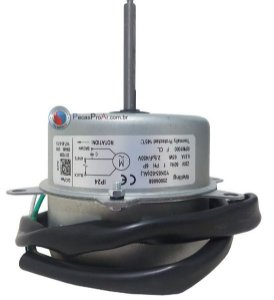 Motor Ventilador Condensadora Carrier cassete 18.000Btu/h 38KCI018515MC